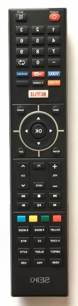 1 × SEIKI & ELEMENT Smart TV Remote for SEIKI SE32HY19T Ele