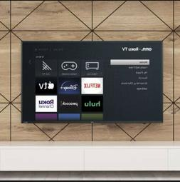 ONN 100012585 50 inch 2160p  UHD Roku Smart LED TV