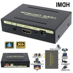 1080P Audio Extractor Converter Splitter HDMI to HDMI & Opti