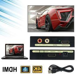1080P HDMI to SPDIF Optical RCA L/R Analog Audio Extractor C