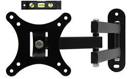 Flat TV Stand Wall Mount Swing Out Tilt Articulating Arm Bra
