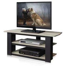 "Furinno 12186GYW/BK Parsons Tv Entertainment Center, 42"", Fr"