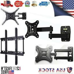 "14""- 55"" TV Monitor Wall Mount Bracket Hanger Full Motion Ar"