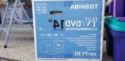 "Toshiba 14"" Flat Tv/DVD Combination"