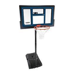 Lifetime 1529 Courtside Height Adjustable Portable Basketbal