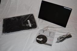"16"" AOC E1659FWU Portable Ultra-Slim LED LCD Monitor, USB 3."