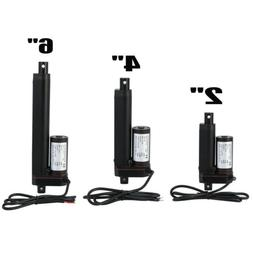 """2""""-6"""" Inch Stroke Linear Actuator 750N/165lbs Pound Max Lift"""