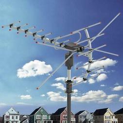 200Miles 1080P Outdoor Amplified HDTV Digital TV Antenna Lon