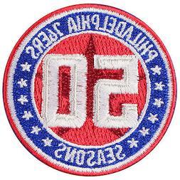 2012 2013 Philadelphia 76ers 50th Anniversary Season Patch J