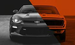 2017 CHEVY CAMARO  POSTER 24 X 36 INCH SWEET!