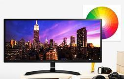 2017 LG 34-Inch IPS WFHD 2560 x 1080 21:9 Display Ultrawide
