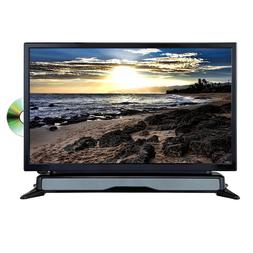 "24"" LED TV TELEVISION / DVD PLAYER COMBO w/ SOUNDBAR SPEAKER"