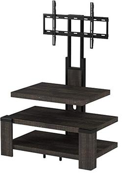 """Whalen 3 Shelf TV Stand with Mount for TV's up to 46"""", Weath"""