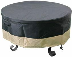 """30"""" 36"""" 40"""" 44"""" 50"""" 60"""" Full Coverage Round Fire Pit Cover/T"""