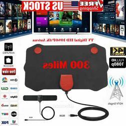 300 Mile HD TV Antenna High Definition TVFox HDTV DTV VHF Sc