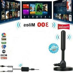 300 Mile Range Antenna TV Digital HD Skywire 4K Antena Digit