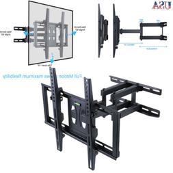 """32-56"""" TV Wall Mount with Dual Articulating Extension Arm Ti"""
