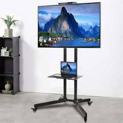 """32-70"""" Rolling TV Stand Mount LCD LED Plasma Console TV Brac"""