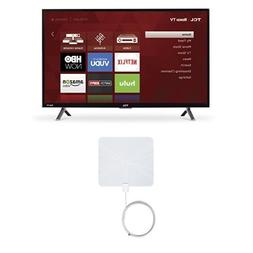 TCL 32S305 32-Inch 720p Roku Smart LED TV  with Winegard Fla