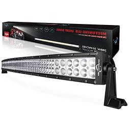 "MICTUNING 50"" 288W 3B439C Curved LED Work Light Bar Combo Of"