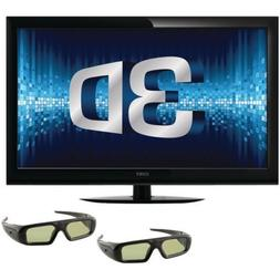 Coby 55-Inch 3D 1080p 120 Hz LED-LCD HDTV with Two Pairs of