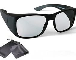 3D Overglasses Passive RealD Polarized Fits Over Prescriptio