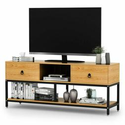 LITTLE TREE 3Tier TV Stand for TVs 20Inch to 55Inch with Two