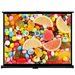 "Cloud Mountain 50"" 4:3 HD Projector Screen Outdoor Indoor Mi"