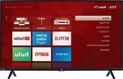 "TCL - 40"" Class - LED - 3-Series - 1080p - Smart - HDTV Roku"