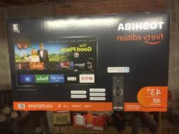 Toshiba 43-inch 4K Ultra HD Smart LED TV with HDR - Fire TV