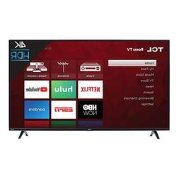 TCL 43S425 43 Inch 4K 60Hz Ultra HD Smart Roku LED TV 2018