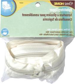 Dritz 44237 Nylon Upholstery Zipper, Cream, 72-Inch