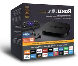 Roku 4661R Ultra 4K Streaming Media Player with JBL Headphon