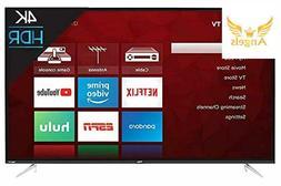 TCL 4K 50 Inch Ultra HD LED Roku Smart TV Renewed Model WIFI