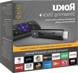 Roku 4K Ultra HD HDR Media Streaming Stick+ with Voice Remot