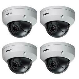 Lorex 4x LNZ44P4B Super High Definition 4MP PTZ Dome Camera