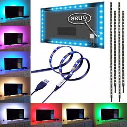 4x USB LED Strip TV Backlight Bias HDTV PC Ambient Backgroun