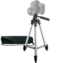 "50"" Inch Pro Series Aluminum Camera Tripod for DSLR Cameras/"