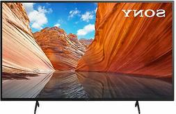 "Sony - 50"" Class X80J Series LED 4K UHD Smart Google TV"