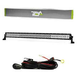 "AVEC 50"" CP OPTICS 300W LED LIGHT BAR ULTRA WHITE W/WIRING H"