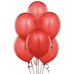50 Ct Huge Red 17 inch Round Latex TufTex Big Balloons 2x Ba