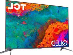 TCL 50 inch 4k 2160p UHD Class 5 Series QLED Smart Roku TV F