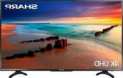 "Sharp 50"" inch 4K LED Smart TV Roku 3 HDMI USB Ultra HD 21"