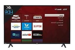 TCL 50 inch 4K Smart LED Roku TV : Electronics