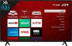 TCL 50-inch 4K Ultra HD HDR Roku Smart TV *50S425