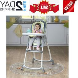 50 Inch Baby High Chair Infant Toddler Feeding Floor Protect