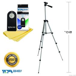 "I3ePro 50"" Inch Camera Tripod with Universal Remote Control"
