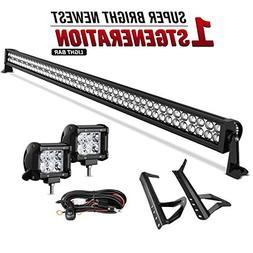 "50""Inch LED Light bar DWVO 288W Spot & Flood Combo + 2X 18W"