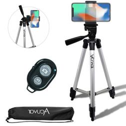 "Acuvar 50"" inch Smartphone Tripod & Wireless Remote For iPho"