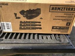 CRAFTSMAN 50-inch Tractor Mulch Kit Lawn Mower Blades Mounti